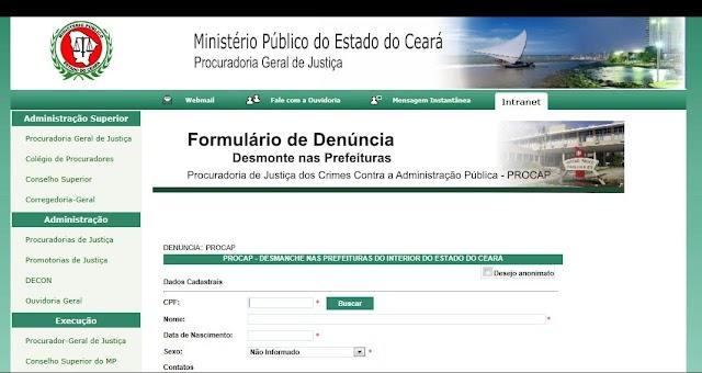 Fiscalização: Ministério Público vai combater desmontes nas Prefeituras