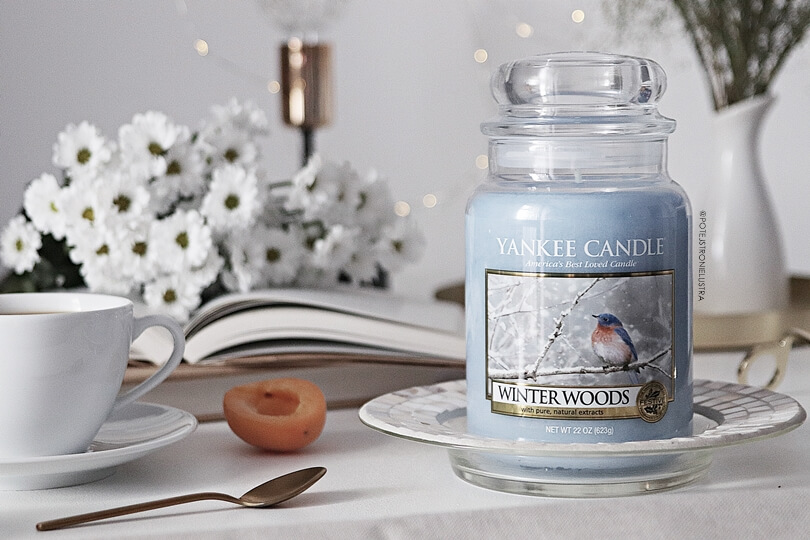 yankee candle winter woods