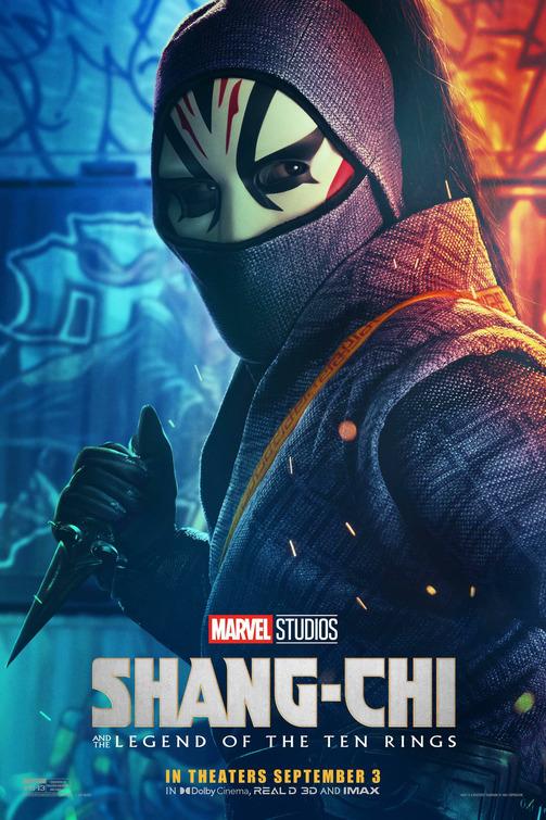 Shang-Chi Death Dealer poster