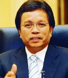 Naib Presiden Umno Datuk Seri Mohd Shafie Apdal