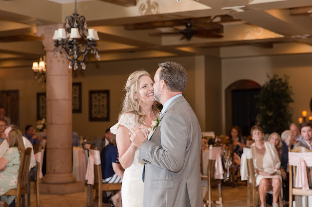 First Dance at The Views at Superstition Wedding Venue