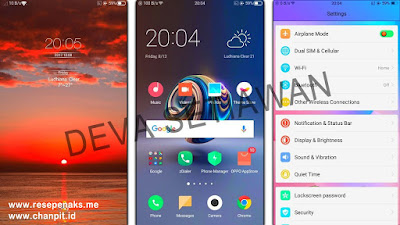 Download Theme Oppo MIUI 9 for ColorOs Fullpack, Tema Oppo Keren