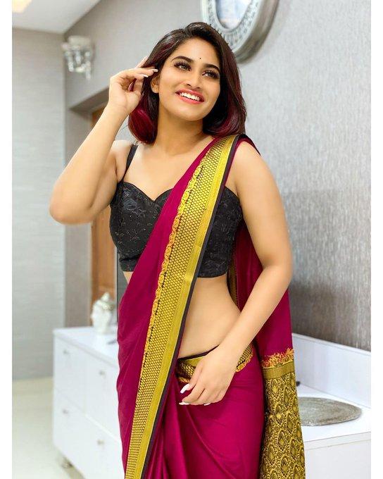 Shivani Narayanan Saree & Blouse Design