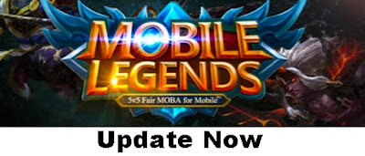 7. Update the Mobile Legends Bang Bang every time