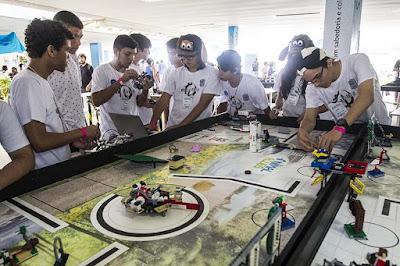 Macaé, RJ, recebe campeonato de robótica neste sábado