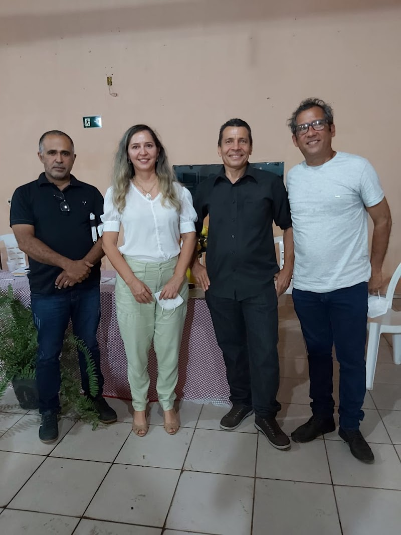 Presidenta da Câmara Municipal de Pedreiras prestigia apresentação da nova diretoria da Associação de Moradores do Mutirão.