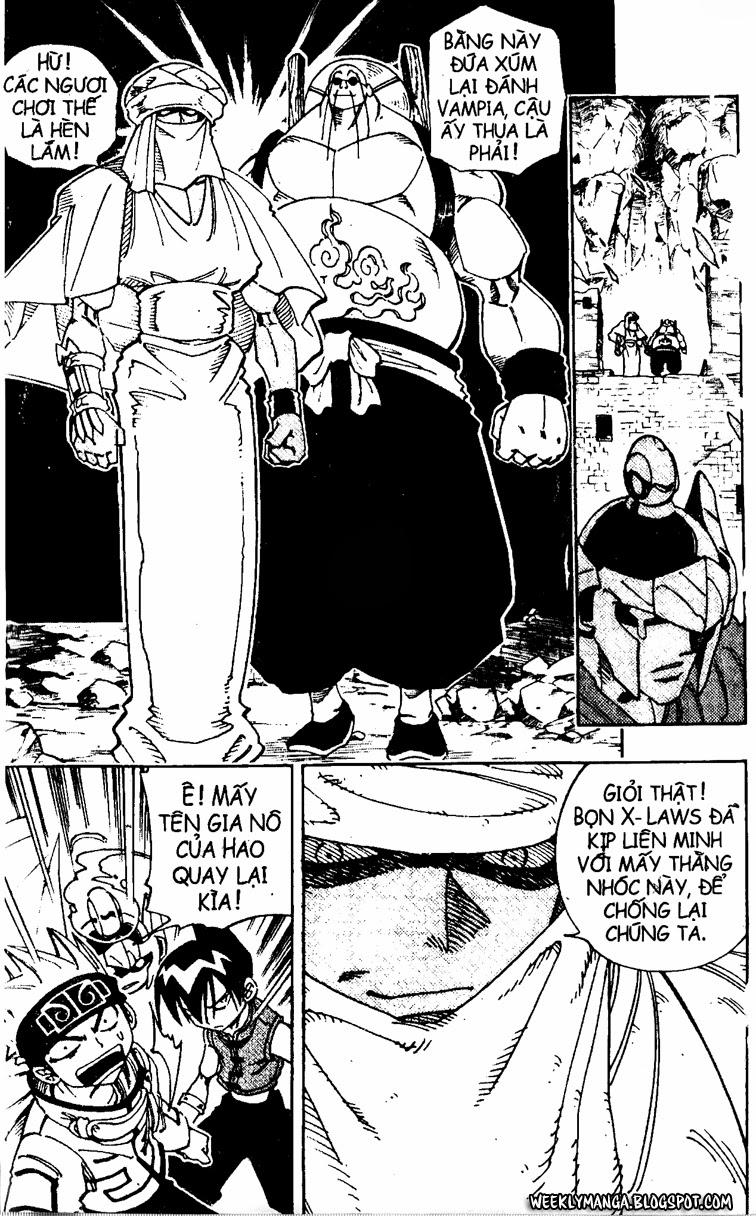 Shaman King [Vua pháp thuật] chap 104 trang 11