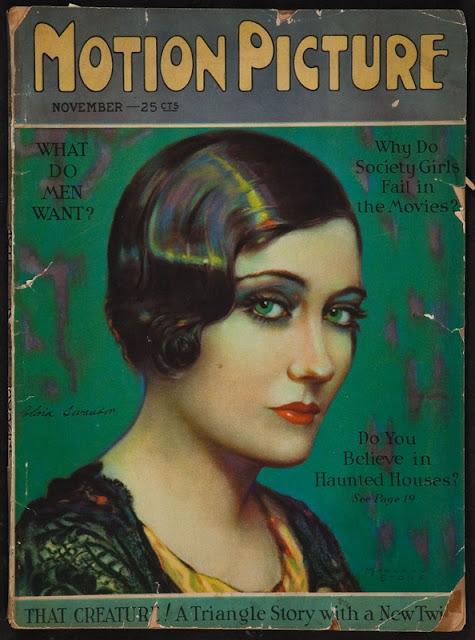 Gloria Swanson by Marland Stone - Motion Picture 1926