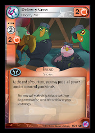 My Little Pony Delivery Crew, Priority Mail Seaquestria and Beyond CCG Card