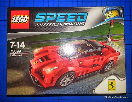 LEGO Speed Champions LaFerrari set 75899 Review pack front