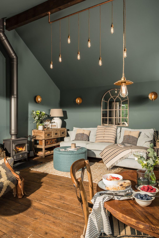 ¿Qué lámpara elijo según el estilo de mi salón?