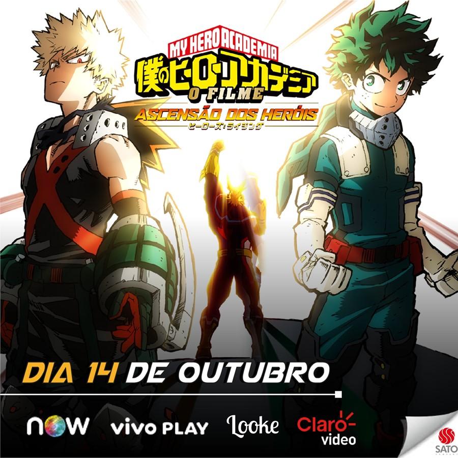 InfoAnimation.com.br: Novo filme de My Hero Academia ganha data de estreia no Brasil