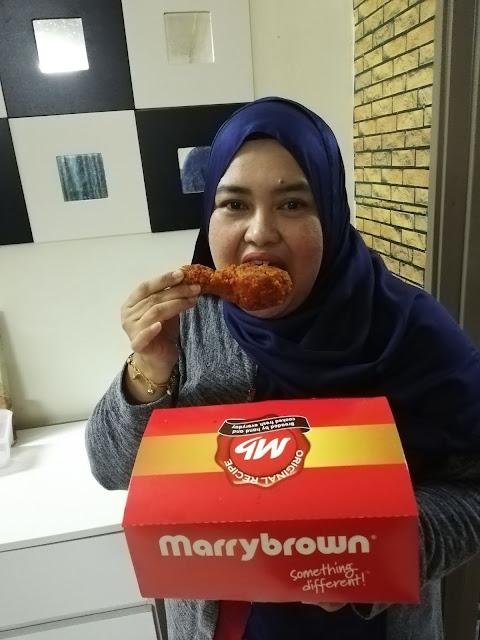 Rakyat Malaysia akan Mala-tup Dengan Ayam Goreng Mala Marrybrown!