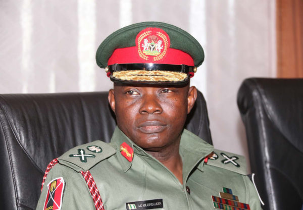 General Abayomi Gabriel Olonisakin – Chief of Defence Staff(