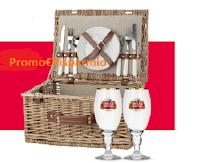 Logo Concorso ''Condividi una Stella - La Vita Artois'': come vincere 61 Set Picnic