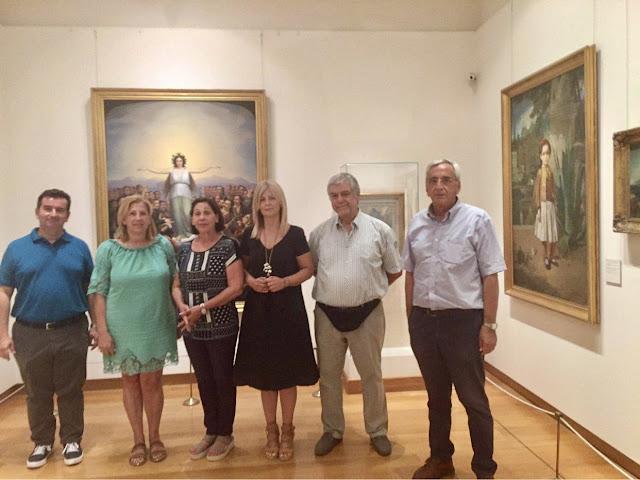 Επίσκεψη στην Αργολίδα της Αντιπεριφερειάρχη Πελοποννήσου για την Παιδεία και τον Πολιτισμό Αθηνάς Κόρκα
