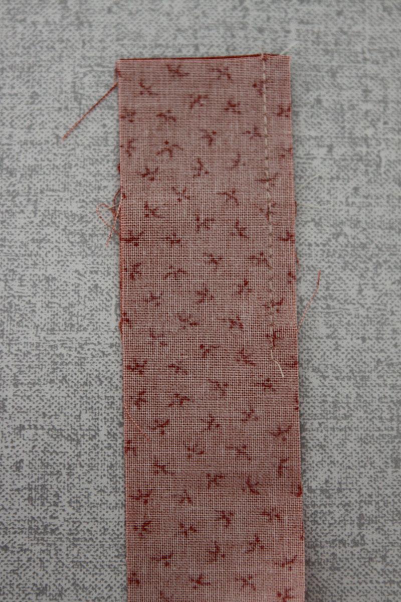 Strip sewn