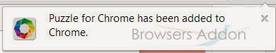 puzzle_for_chrome_successfully added