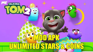 Download My Talking Tom 2 APK MOD Unlimited Coins & Stars