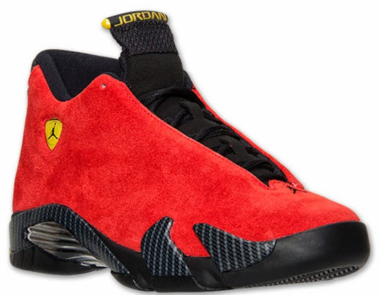 56607f34416 ... spain known as the ferrari edition this air jordan 14 retro comes in a challenge  red