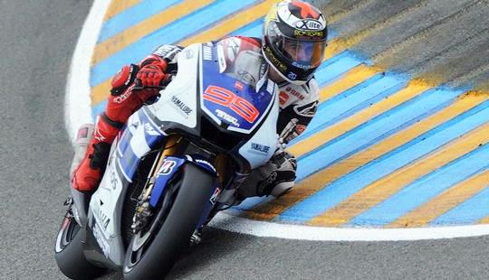 Jorge Lorenzo Juara motoGP 2012 Le Mans Perancis