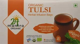 24 Mantra Tulsi Tea