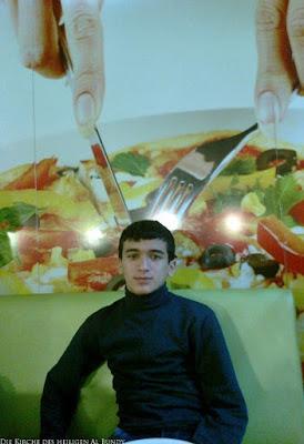 Lustige Menschen Fotos - Gehirn Salat