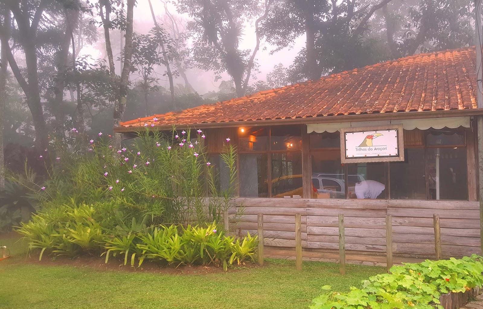 Trilhas do Araçari, Dica de restaurante em Mury,RJ