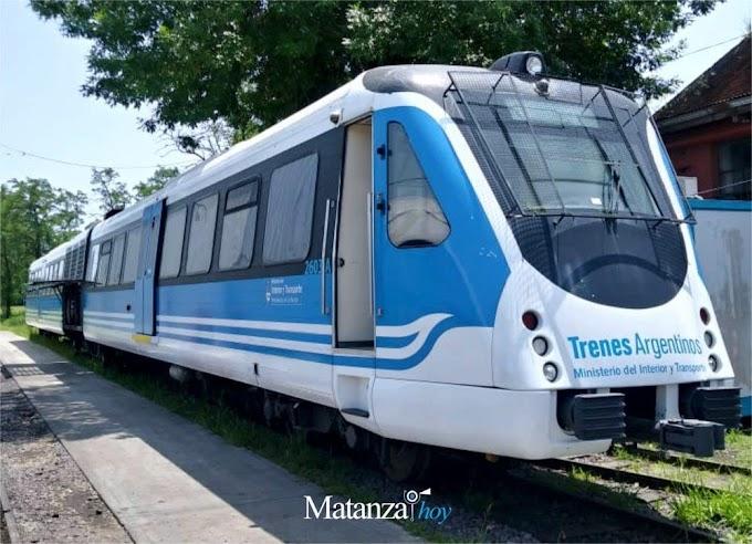 Sumarán trenes Alerce en la línea Belgrano Sur