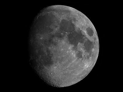 Lluna de 9,7 dies, 1/07/2020