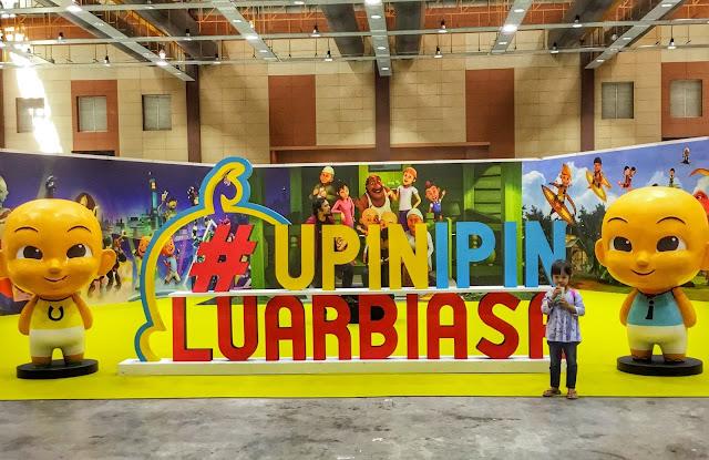 Bawa Qaseh pergi Karnival Upin & Ipin 2017 di MAEPS, Serdang.
