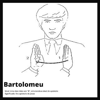 Bartomeu em Libras