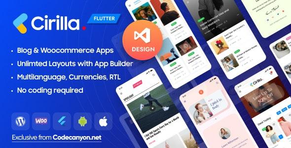 Cirilla v1.0.5 - Multipurpose Flutter Wordpress App