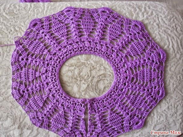 Encantador conjunto de vestido y sombrero para niña al crochet ... 525b52a727c