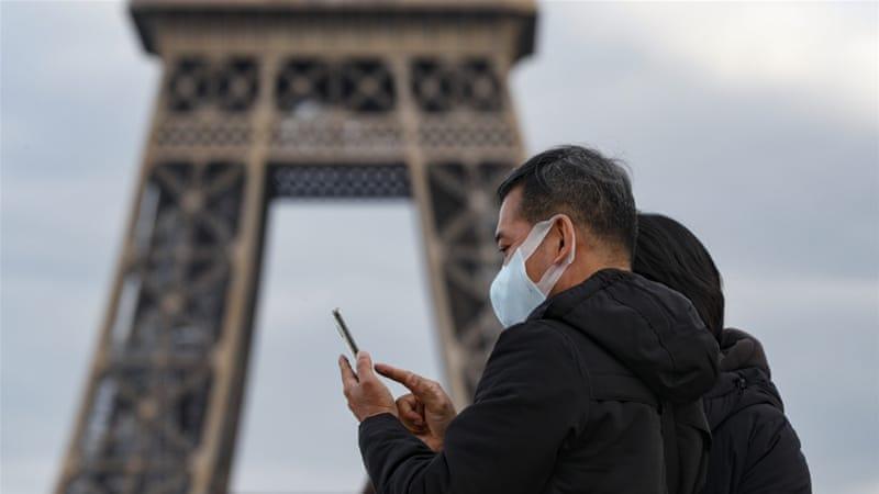 Коронавирус во Франции онлайн