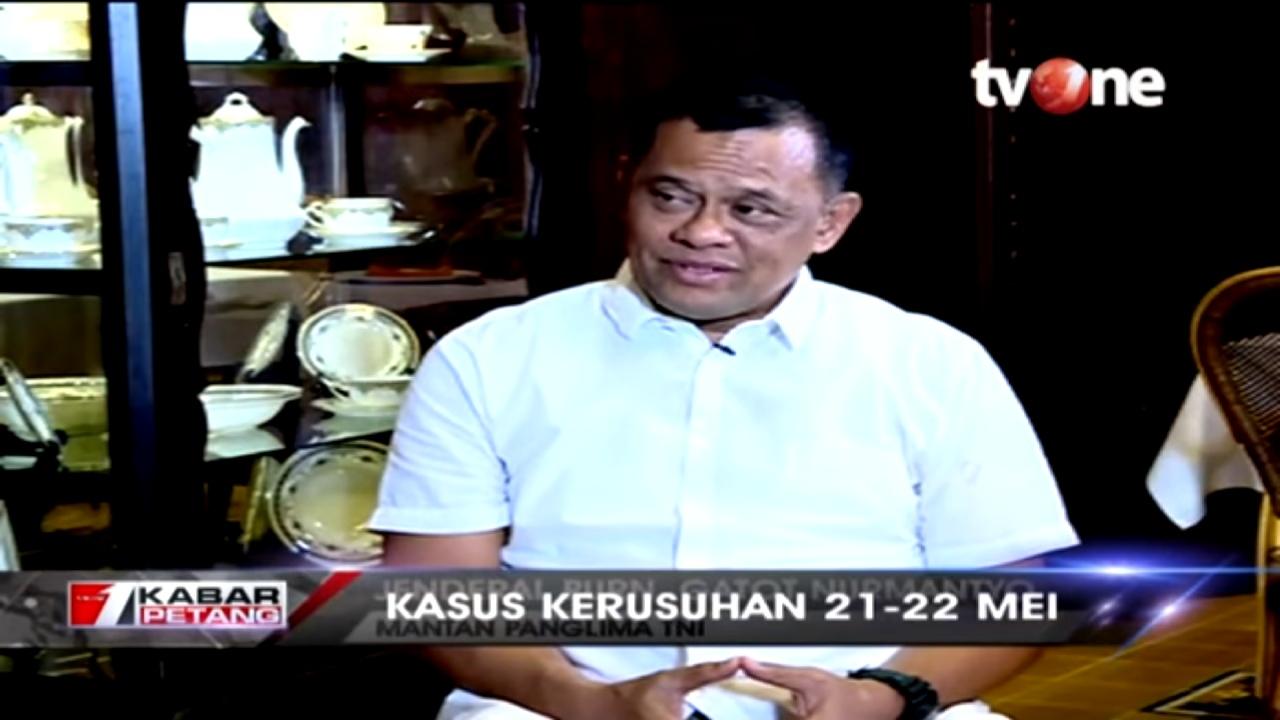 Jenderal Gatot Nurmantyo Ungkap Dalang Isu Indonesia Rusuh