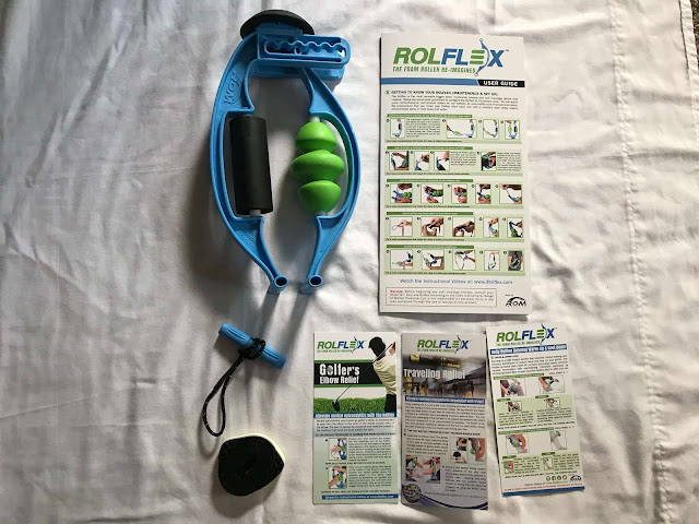 RolFlex massager sports fitness running athletic muscle knots pain tension product review recovery
