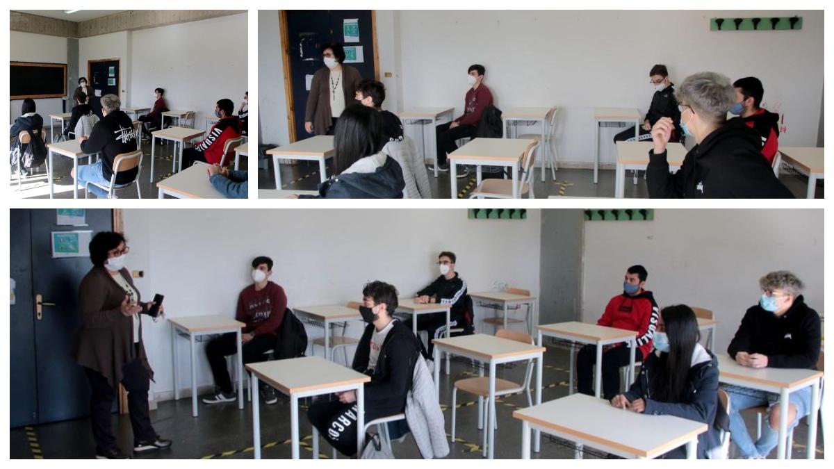 Rientro a scuola all'E.Fermi-F.Eredia di Catania