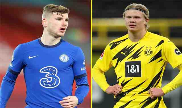 Werner, Chelsea's weapon, to settle Haaland's deal from Borussia Dortmund