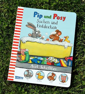 Pip und Posy: Suchen und Entdecken von Axel Scheffler, Bilderbuch, Kinderbuch