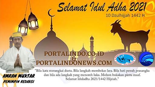 Selamat Idul Adha 1442H / 2021M