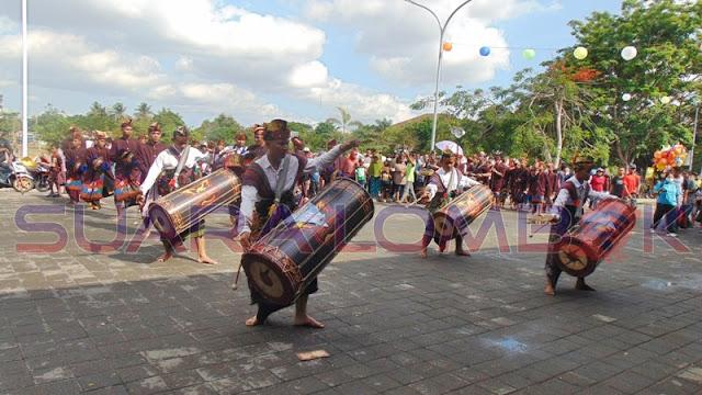 Festival Gendang Beleq 3S Meriah