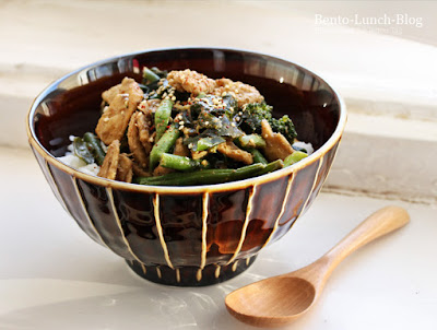 Rezept: Gemüse und Wakame in Sesamsauce
