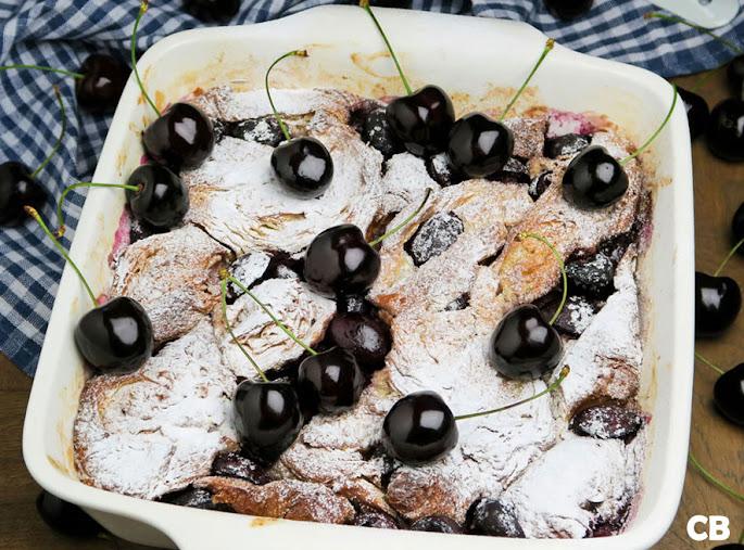 Recept Croissantpudding met hedelfingers: verrukkelijk!