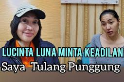Lucinta Luna minta Keadilan Ke Hakim