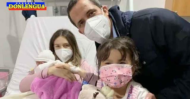 La Princesa Miranda   Mujer de Juan Guaidó parió a su segunda hija