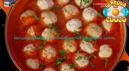Polpette di ricotta al sugo ricetta Moroni da Prova del Cuoco