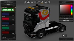 Kings of the Road Skin for Scania RJL