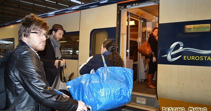 Eurostar: viagem de trem de Londres a Paris