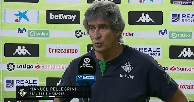 Real Betis manager Pellegrini might serve 4-game ban for speaking ill about the referee after Madrid Var incident